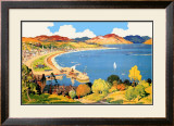 Royal Rothesay, the Holiday Capital of the Clyde Framed Giclee Print by Robert Houston
