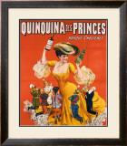 Quinquina des Princes Framed Giclee Print