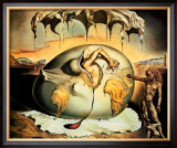 Geopoliticus Child Poster by Salvador Dalí