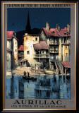 Aurillac Framed Giclee Print