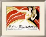 Palais der Friederichstadt Framed Giclee Print by  Riemer