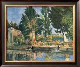 The Park Posters by Paul Cézanne