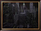 South Manhattan Night Prints by Eric Peyet