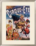 Cirque d'Ete Framed Giclee Print