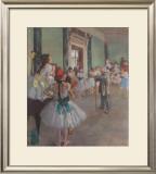 Classe de Danse Posters by Edgar Degas
