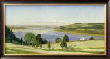 Buckwheat Field, c.1863 Art by Thomas Charles Farrer
