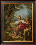 Le Collin-Maillard Print by Jean-Honoré Fragonard