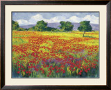 Poppies I Prints by Jésus P. Camargo