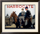 Harrogate, LNER Poster, 1930 Framed Giclee Print by Frank Newbould