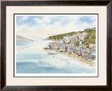 Fowey From Boddinick Limited Edition Framed Print