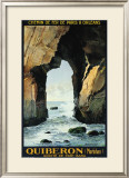 Quiberon Framed Giclee Print by L. Symonnot