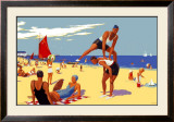 Cleethorpes: Its Quicker by Rail Framed Giclee Print by Greig