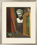 Melancholie Hermetique, 1919 Prints by Giorgio De Chirico