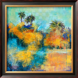 Tropical Evening I Prints by Norm Daniels