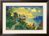 Scarborough Framed Giclee Print by C. Gorbatoff