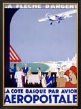 Aeropostale Framed Giclee Print