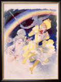Folies Bergere, Arc En Ciel Framed Giclee Print by Jules Chéret