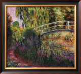 Pont Japonais-Bassin aux Nympheas Prints by Claude Monet