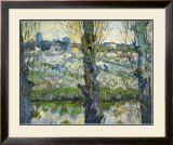 Blick auf Arles, c.1889 Print by Vincent van Gogh