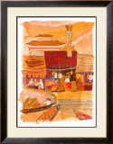 Waterside Lanterns Posters by Liz Myhill