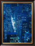 City of Light Art by Jeffrey Spielman