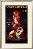 Exposition Internationale Lyon, 1914 Framed Giclee Print by Leonetto Cappiello