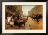 Rue Royale, Paris Prints by L. Shryver