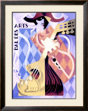 Bal des Arts Framed Giclee Print by H. Amoro