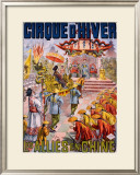 Les Allies en Chine Framed Giclee Print by Louis Galice