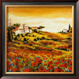 Valley of Poppies Prints by Richard Leblanc