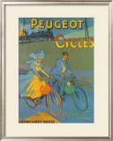 Cycles Peugeot Framed Giclee Print