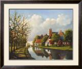 Village Reflections Prints by Pieter Molenaar