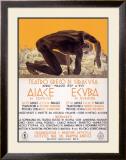 Greek Drama Siracusa Theater Framed Giclee Print