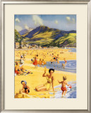 Barmouth, BR Poster, 1956 Framed Giclee Print by Harry Riley