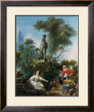 La Surprise Posters by Jean-Honoré Fragonard