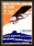 Grand Aviation, Meeting of Lyon Framed Giclee Print