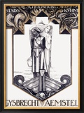 Gysbrecht Van Aemstel Play Framed Giclee Print by Richard N Roland-holst
