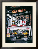 Monument Car Wash Print by Christophe Susbielles