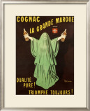 Swiss Cognac Framed Giclee Print by Leonetto Cappiello
