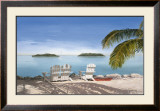 April in Paradise II Print by Laurie Chase