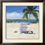 Beach Chair Poster by Laurie Chase