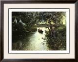 River Landscape Prints by Manuel Garcia Y Rodriguez