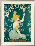 Absinthe Blanqui Framed Giclee Print by  Nouer