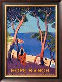 Hope Ranch Exclusive Club Framed Giclee Print
