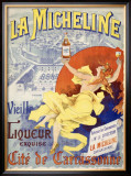 La Micheline Framed Giclee Print by M. Tognarelli