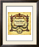 Pinot Noir Wine Label Framed Giclee Print