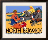 North Berwick, LNER Poster, 1923 Framed Giclee Print by Frank Newbould