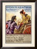 Spanish Bullfight, 1928 Framed Giclee Print