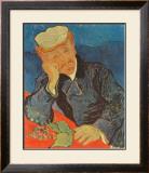 Dr. Paul Gachet, c.1890 Art by Vincent van Gogh