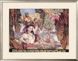 Bananas from Tropical Plantations Framed Giclee Print by Dean Cornwell